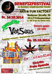 Benefizfestival zu Gunsten misshandelter Kinder, 2512 Tribuswinkel (NÖ), 25.10.2014, 19:00 Uhr