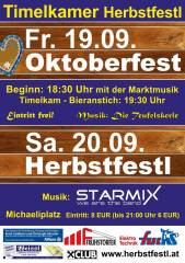 Oktoberfest Timelkam, 4850 Timelkam (OÖ), 19.09.2014, 18:30 Uhr