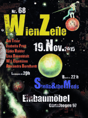 präsentation wienzeile#68, 1090 Wien,Alsergrund (Wien), 19.11.2015, 20:00 Uhr