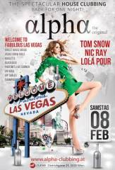 Alpha - Welcome to fabulous Las Vegas!, 1030 Wien  3. (Wien), 08.02.2014, 22:00 Uhr