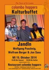 """""""Jandln"""" mit Wolfgang Puschnig, Wolfram Berger und Jon Sass, 1050 Wien  5. (Wien), 15.10.2014, 19:00 Uhr"""