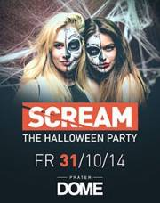 Scream - The Halloween Party, 1020 Wien  2. (Wien), 31.10.2014, 22:00 Uhr