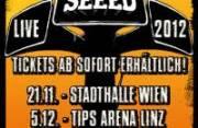 Seeed, 8010 Graz  1. (Stmk.), 06.12.2012, 20:00 Uhr