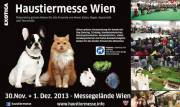Haustiermesse Wien 2013, 1020 Wien  2. (Wien), 01.12.2013, 10:00 Uhr