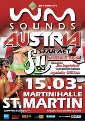WM-Sounds Austria mit Star-Act fii | St. Martin/Raab, 8383 St. Martin an der Raab (Bgl.), 15.03.2014, 21:00 Uhr