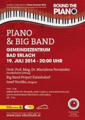 Piano & Big Band Project, 2822 Erlach (NÖ), 19.07.2014, 20:00 Uhr