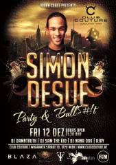 """Simon Desue hosting """"Party & Bullshit"""", 1220 Wien 22. (Wien), 12.12.2014, 22:00 Uhr"""