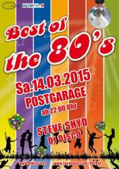 Best of the 80s, 8020 Graz  5. (Stmk.), 14.03.2015, 22:00 Uhr