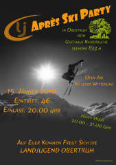Apre Ski Party, 5162 Obertrum am See (Sbg.), 15.01.2010, 20:00 Uhr
