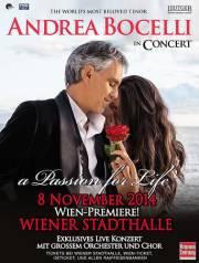 Andrea Bocelli, 1150 Wien 15. (Wien), 08.11.2014, 19:30 Uhr