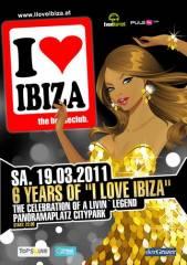"""6 Jahre """"I love Ibiza"""", 8020 Graz  5. (Stmk.), 19.03.2011, 22:00 Uhr"""