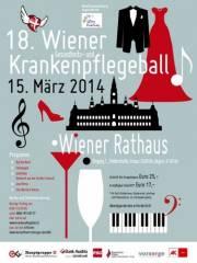18. Wiener Krankenpflegeball, 1010 Wien  1. (Wien), 15.03.2014, 20:00 Uhr