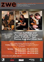 "Christian Salfellner and ""The International Sweethearts of Rhythm"", 1020 Wien,Leopoldstadt (Wien), 12.05.2014, 20:00 Uhr"
