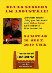 Blues Session im Industrie!, 1050 Wien  5. (Wien), 20.09.2014, 20:00 Uhr