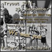 Cheerleader Tryout, 2340 Mödling (NÖ), 25.09.2015, 16:30 Uhr