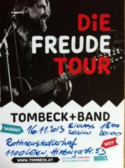 Tombeck Unplugged, 1100 Wien 10. (Wien), 16.11.2013, 20:00 Uhr