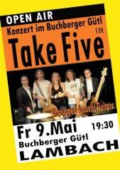 Opern Air mit Take Five in Lambach, 4650 Lambach (OÖ), 09.05.2014, 19:30 Uhr