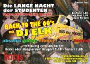 Back to the 60's, 1020 Wien  2. (Wien), 01.10.2014, 20:00 Uhr