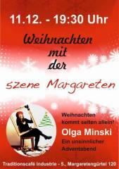 Weihnachten kommt selten allein - Olga Minski im Industrie!, 1050 Wien  5. (Wien), 11.12.2014, 19:30 Uhr