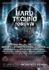 Hardtechno Festival - Austrias Biggest Hard Electronic Dance Music Festival, 1220 Wien 22. (Wien), 17.01.2015, 20:00 Uhr
