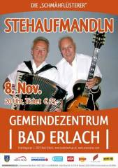 Stehaufmandln, 2822 Erlach (NÖ), 08.11.2014, 20:00 Uhr