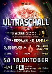 Ultraschall - The End, 2500 Baden (NÖ), 18.10.2014, 21:00 Uhr