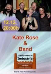 Kate Rose & Band im Industrie!, 1050 Wien  5. (Wien), 12.12.2014, 20:00 Uhr