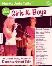 Girls & Boys, 3430 Tulln an der Donau (NÖ), 16.01.2015, 19:00 Uhr