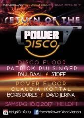 Return of the  POWER DISCO, 1160 Wien,Ottakring (Wien), 16.09.2017, 21:45 Uhr