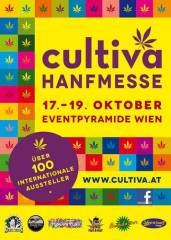 Cultiva Hanfmesse 2014 - Tag 3, 2331 Vösendorf (NÖ), 19.10.2014, 11:00 Uhr