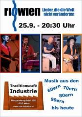 riowien im Industrie!, 1050 Wien  5. (Wien), 25.09.2014, 20:30 Uhr