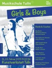 Girls & Boys Musikschule Tulln, 3430 Tulln an der Donau (NÖ), 24.01.2014, 19:00 Uhr
