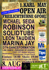 1. Karl May Open Air, 3542 Gföhl (NÖ), 08.08.2014, 19:00 Uhr