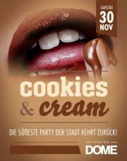 Cookies and Cream, 1020 Wien  2. (Wien), 30.11.2013, 22:00 Uhr