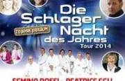 Die Schlagernacht des Jahres Tour 2014, 5020 Salzburg (Sbg.), 24.10.2014, 20:00 Uhr