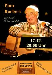 Pino Barberi im Industrie!, 1050 Wien  5. (Wien), 17.12.2014, 20:00 Uhr