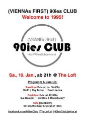 90ies Club: Welcome to 1995!, 1160 Wien 16. (Wien), 10.01.2015, 21:00 Uhr