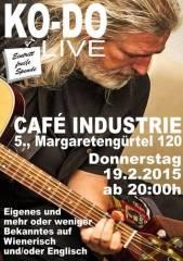 KO-DO live im Industrie!, 1050 Wien  5. (Wien), 19.02.2015, 20:00 Uhr