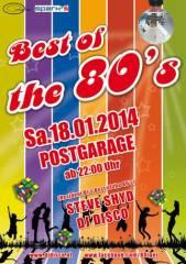 Best of the 80s, 8020 Graz  5. (Stmk.), 18.01.2014, 22:00 Uhr