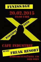 "Finissage ""100 Jahre Café Industrie!"", 1050 Wien  5. (Wien), 20.02.2015, 20:00 Uhr"
