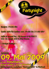 Partynight Fohnsdorf, 8753 Fohnsdorf (Stmk.), 09.05.2009, 19:00 Uhr