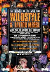 Wildstyle & Tattoo Messe, 8010 Graz  1. (Stmk.), 23.11.2014, 12:00 Uhr