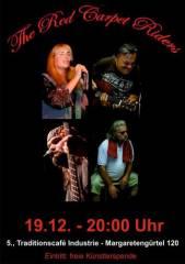 The Red Carpet Riders im Industrie!, 1050 Wien  5. (Wien), 19.12.2014, 20:00 Uhr