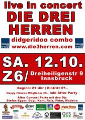 Die 3 Herren - Live in Concert, 6020 Innsbruck (Trl.), 12.10.2013, 21:00 Uhr
