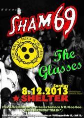 Sham 69 (UK) + Dope Guns + The Glasses, 1200 Wien 20. (Wien), 08.12.2013, 20:00 Uhr