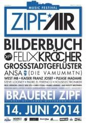 Zipfair Music Festival 2014, 4872 Neukirchen an der Vöckla (OÖ), 14.06.2014, 17:30 Uhr