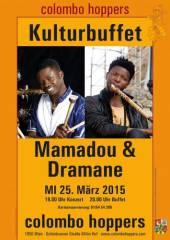 Afro-Jazz: Mamadou Diabate und Dramane Dembele, 1050 Wien  5. (Wien), 25.03.2015, 19:00 Uhr