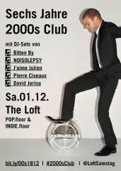 SECHS JAHRE 2000s CLUB, 1160 Wien,Ottakring (Wien), 01.12.2018, 21:45 Uhr