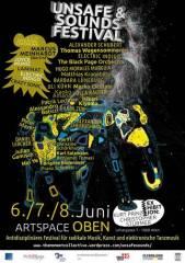 Unsafe & Sounds Festival - Eröffnung, 1060 Wien  6. (Wien), 06.06.2014, 19:00 Uhr