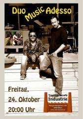 DuoMusicAdesso im Industrie!, 1050 Wien  5. (Wien), 24.10.2014, 20:00 Uhr